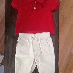 Polo and pants